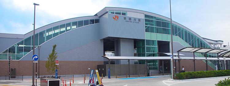 東海道線・安倍川駅-さいきの駅...