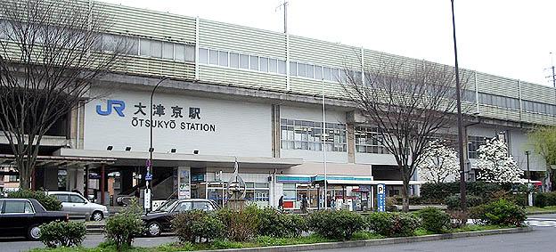 湖西線・大津京駅-さいきの駅舎...