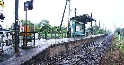 境線・上道駅-さいきの駅舎訪問