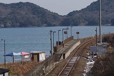 シーサイド 駅 池の浦 日本一海に近い駅が廃止
