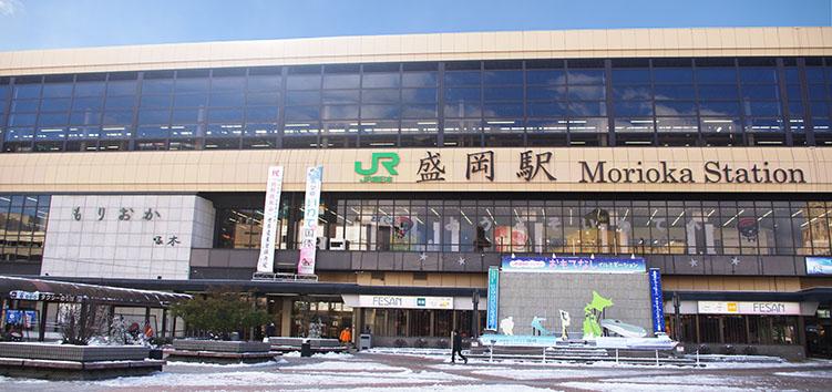 東北線・盛岡駅-さいきの駅舎訪...