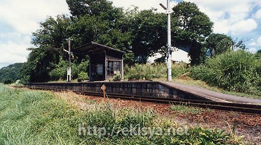 廃止路線の駅舎・明知線